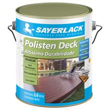 Stain Polisten Deck Base Água Natual 3,6L Sayerlack