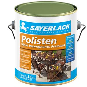 Stain Polisten Natural Fosco Natural 3,6L Sayerlack