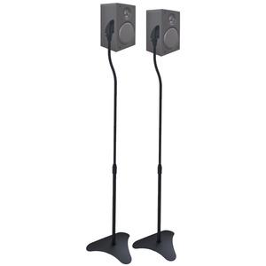 Suporte Caixa Acústica Alumínio Preto Multivisão