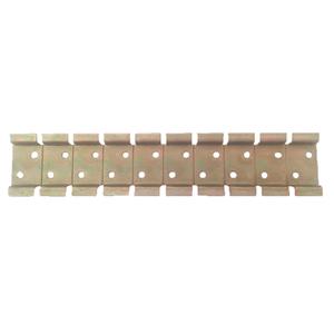 Suporte de Metal Bicromatizado para 10 Disjuntores DIN
