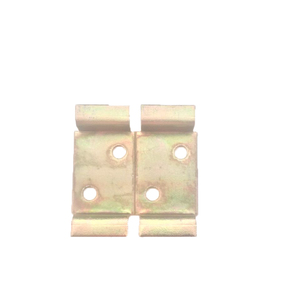 Suporte de Metal Bicromatizado para 2 Disjuntores DIN