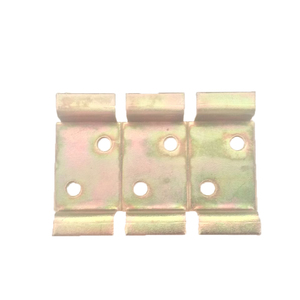 Suporte de Metal Bicromatizado para 3 Disjuntores DIN