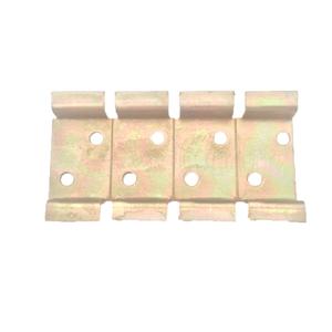 Suporte de Metal Bicromatizado para 4 Disjuntores DIN
