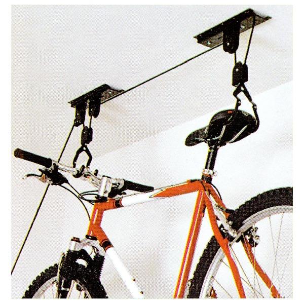 7dbb74a9b Suporte para Bicicleta de Teto Metal Preto Bemfixa