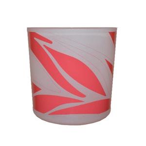 Suporte de Vidro Flamingo Rosa 7,8x7,2cm