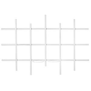 Suporte FERRO TREPADEIRA horizontalontal com 4 VASOS MONTE REAL