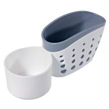 Suporte para Detergente e Esponja  Plástico Branco Arthi