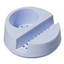 Suporte para Detergente e Esponja  Plástico Branco Glub Martiplast