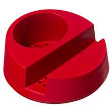 Suporte para Detergente e Esponja  Plástico Vermelho Glub Martiplast