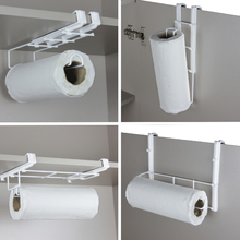 Suporte para Papel Toalha Flex 7,5x10x29,2cm Branco Space Savers Metaltru