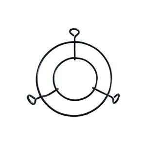 Suporte para Pendurar Aranha Ferro 26cm Preto