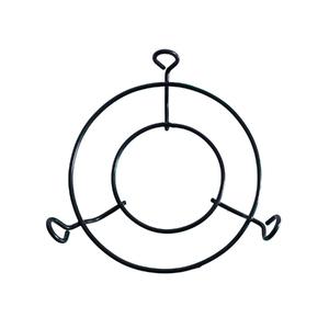 Suporte para Pendurar Aranha Ferro 30cm Preto