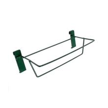 Suporte para Pendurar Ferro para Floreira 22x35cm Verde
