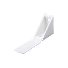 Suporte para Prateleira de Madeira Fixa 31x24mm Branco Plástico 1 unidade