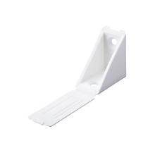 Suporte para Prateleira de Madeira Fixa 31x24mm Branco Plástico 20 unidades