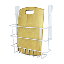 Suporte para Tábua de Passar Branco 29x8,5x25,5cm Space Savers Metaltru