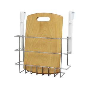 Suporte para Tábua de Passar Cromado 29x8,5x25,5cm Space Savers Metaltru