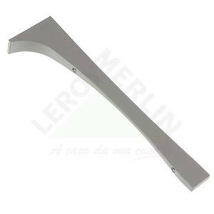 Suporte para Trilho Fit Zamac Anodizado Natural 29x6cm DS Artefatos