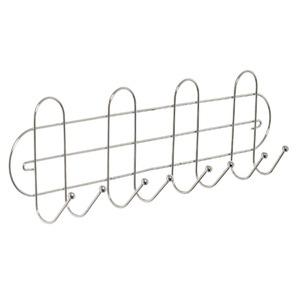 Porta Vassouras Cromado- Acompanha Buchas e parafusos - 40,8 x 6,5 x 12,5- Arthi