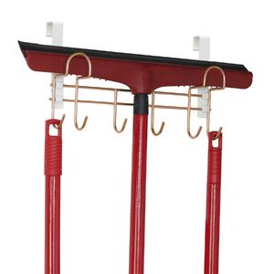 Suporte para Vassouras Crobre 29x17x9cm Metaltru