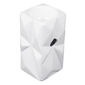 Suporte para Vela Diamond Branco