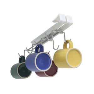 Suporte para Xícaras Master 8 Unidades 8,5x4x26cm Cromado Space Savers Metaltru
