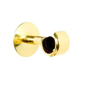 Suporte Parede Simples Zamac Dourado 19mm Couselo