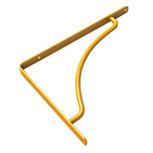 Suporte Utilfer 15,5x1,5cm Amarelo