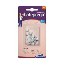 Suprimento para Bateprego 36 peças 5010 Bemfixa