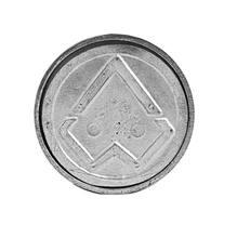 Tampa Alumínio para Caixa Inspenção Diâmetro 4 Polegadas Costa Navarro