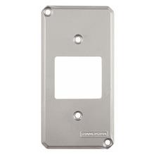 Tampa P/Caixa Piso Aluminio Cromado 2 Posto Tamanho 4X2 Tramontina