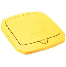 Tampa para Lixeira Seletiva Plástico Amarela 30 L Manual Arthi