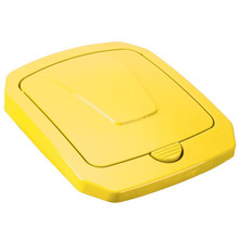 Tampa para Lixeira Seletiva Plástico Amarela 40 L Manual Arthi