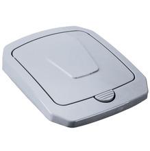 Tampa para Lixeira Seletiva Plástico Cinza 40 L Manual Arthi
