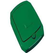 Tampa para Lixeira Seletiva Plástico Verde 15 L Manual Arthi