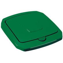 Tampa para Lixeira Seletiva Plástico Verde 30 L Manual Arthi