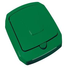 Tampa para Lixeira Seletiva Plástico Verde 40 L Manual Arthi