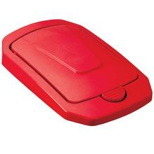 Tampa para Lixeira Seletiva Plástico Vermelha 15 L Manual Arthi