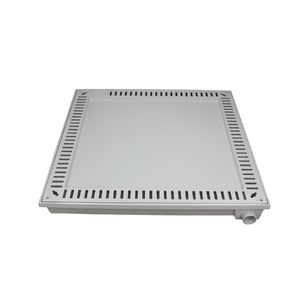Tampão Alumínio para Casa de Máquina Simples Rebaixado 80x80cm GDA