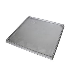 Tampão Alumínio com Aro 60x60cm Simples Rebaixado GDA