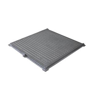 Tampão Alumínio com Porta Cadeado 70x70cm Articulado GDA