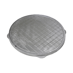 Tampão Alumínio para Caixa de Gordura Simples 0,42cm GDA