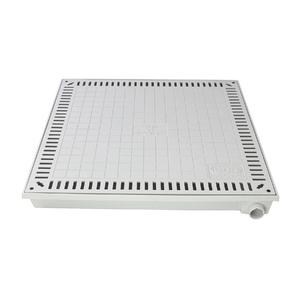 Tampão Alumínio para Casa de Máquina Simples 80x80cm GDA