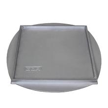 Tampão Alumínio Simples Rebaixado com Aro Redondo e Tampa 50x50cm GDA
