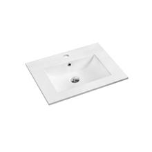 Tampo de Banheiro Dado 61x46cm Branco Sensea