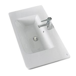 Tampo de Banheiro Louça Gap 20x80x44cm Branco Roca