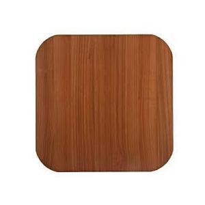 Tampo de Mesa MDF Quadrado Noce 60x60cm Home Wood