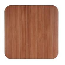 Tampo de Mesa MDF Quadrado Noce 90x90cm Home Wood
