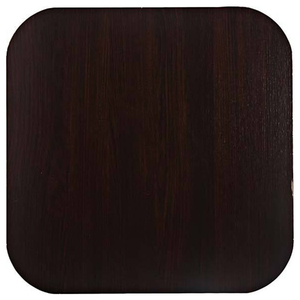 Tampo de Mesa MDF Quadrado Tabaco 60x60cm Home Wood