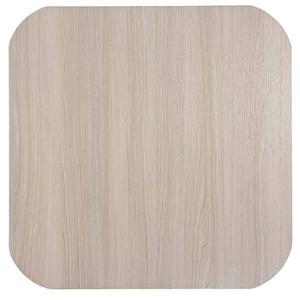 Tampo de Mesa MDF Quadrado Teca 60x60cm Home Wood
